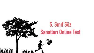 5. Sınıf Söz Sanatları Online Test