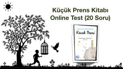 Küçük Prens Kitabı Online Test (20 Soru)