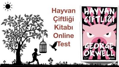 Hayvan Çiftliği Kitabı Online Test